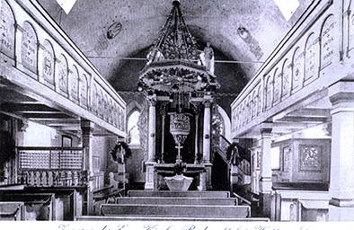 Kirche um 1899