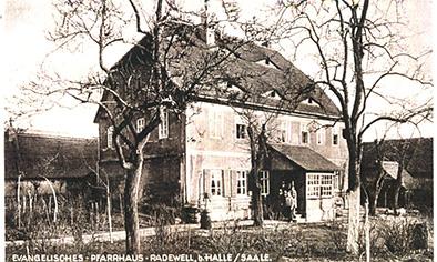 Pfarrhaus um 1909