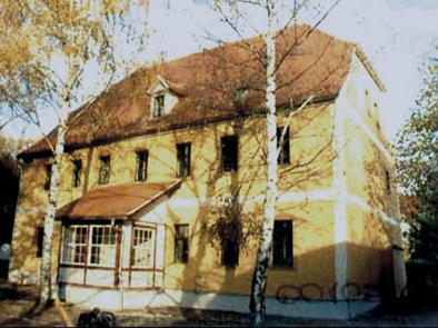 Pfarrhaus um 1916