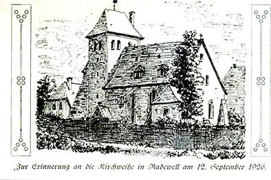 Kirche um 1926