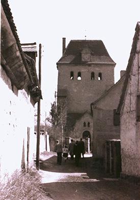 Kirche um 1950