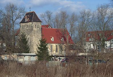 Kirche um 1990