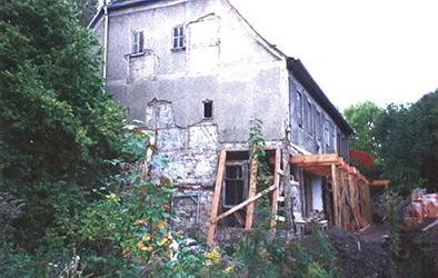 Pfarrhaus um 1999