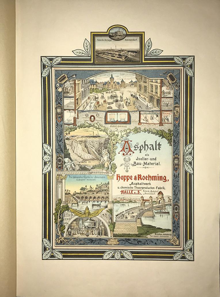 Farbabbildung Gedenkschrift 1914