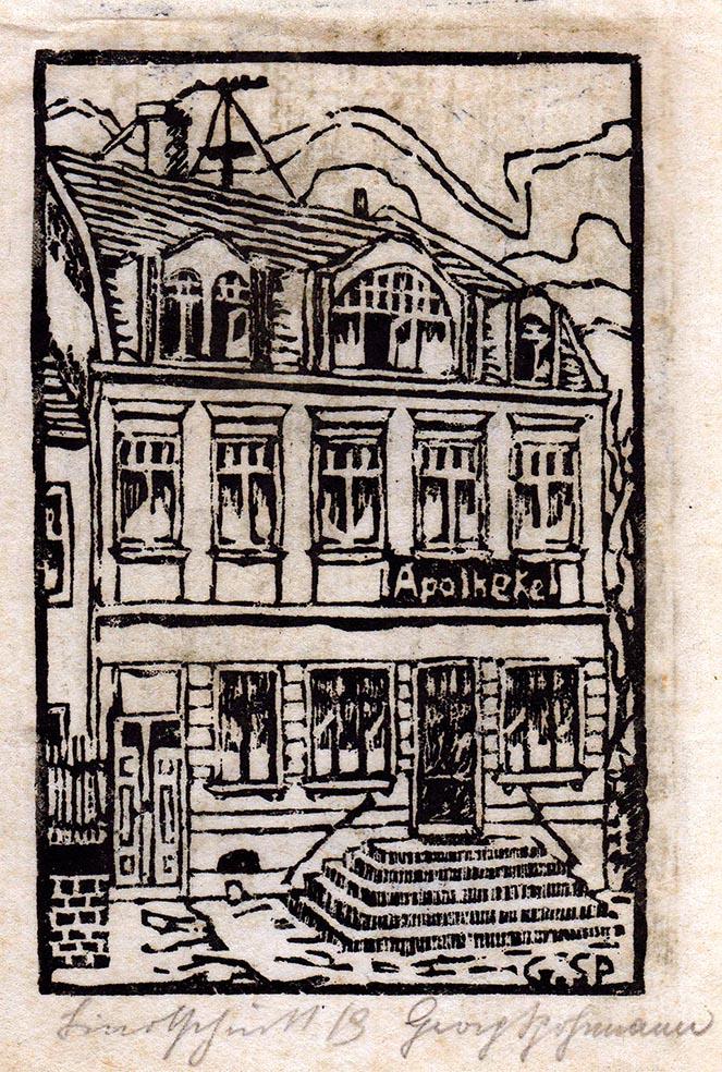 Linolschitt von Georg Spohrmann (Inh.)