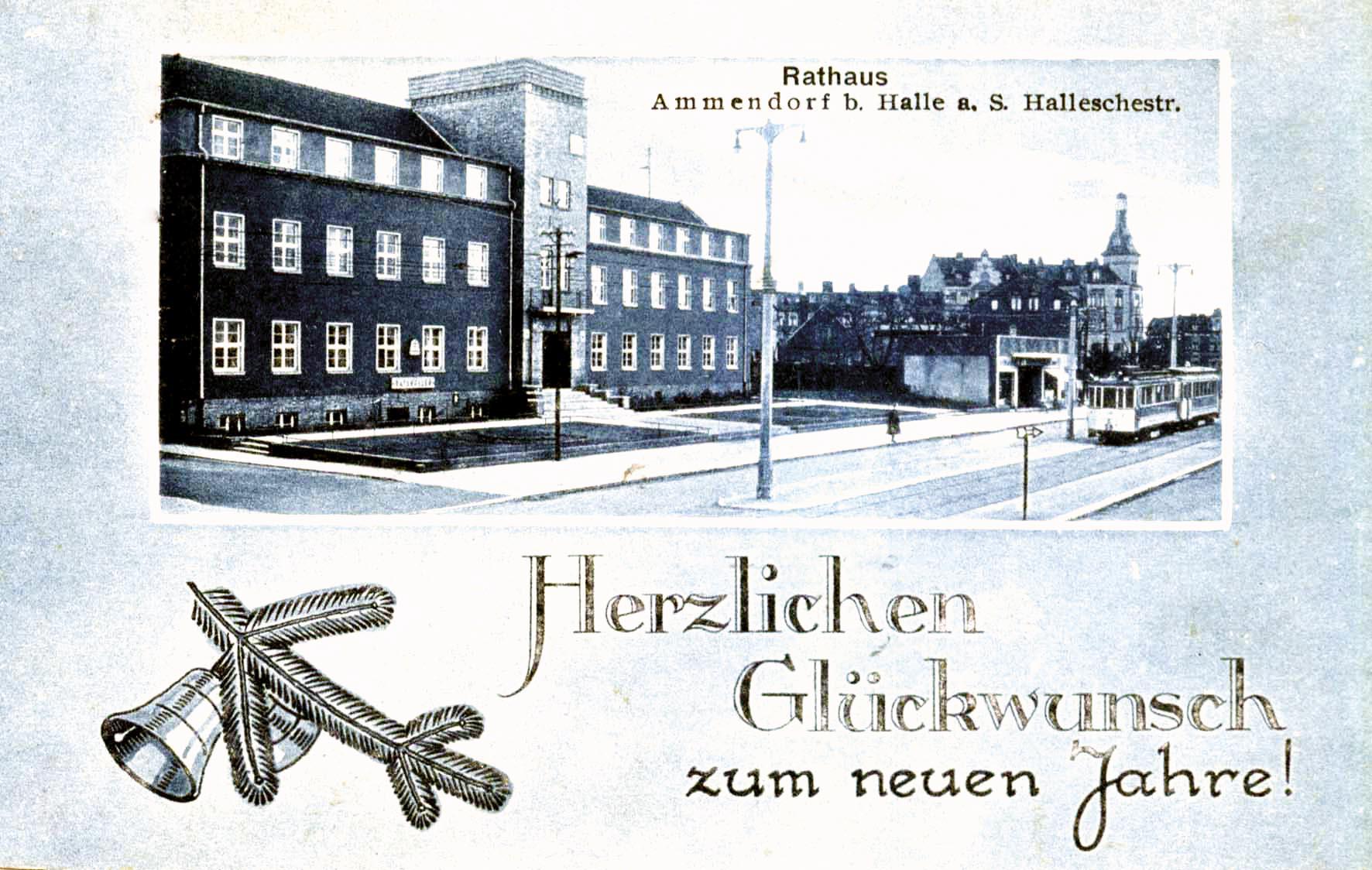 Neujahrsgrüße, 1931