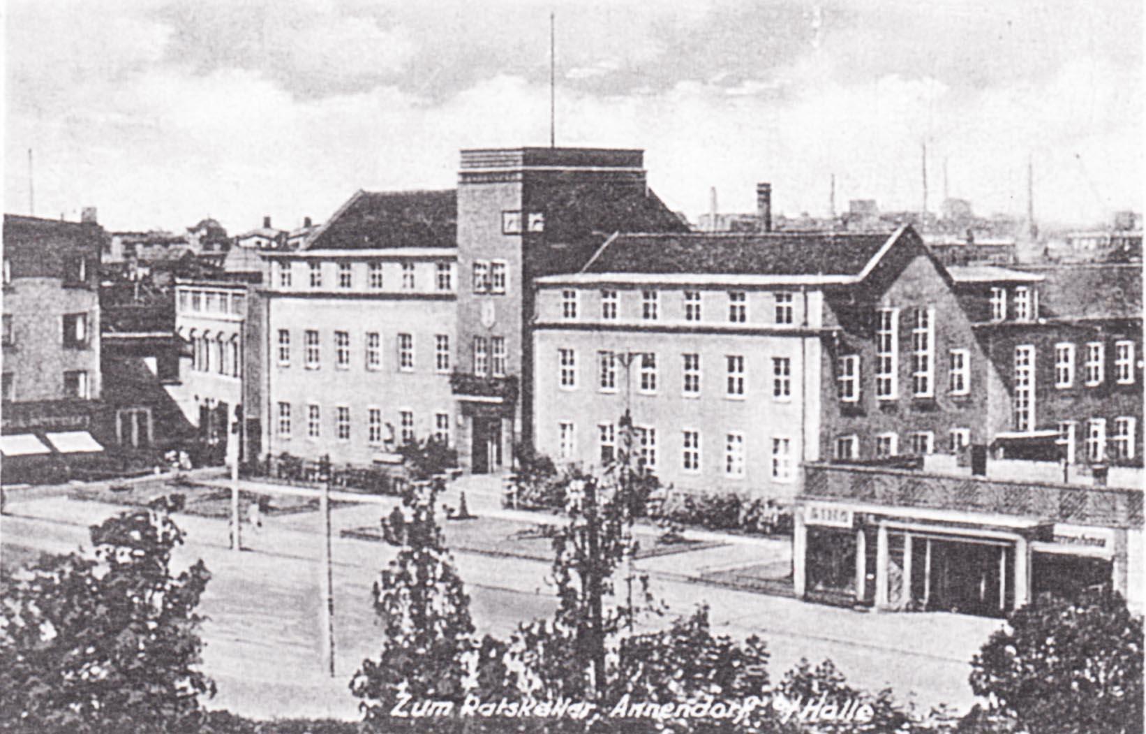 Rathaus, Ansichtskarte