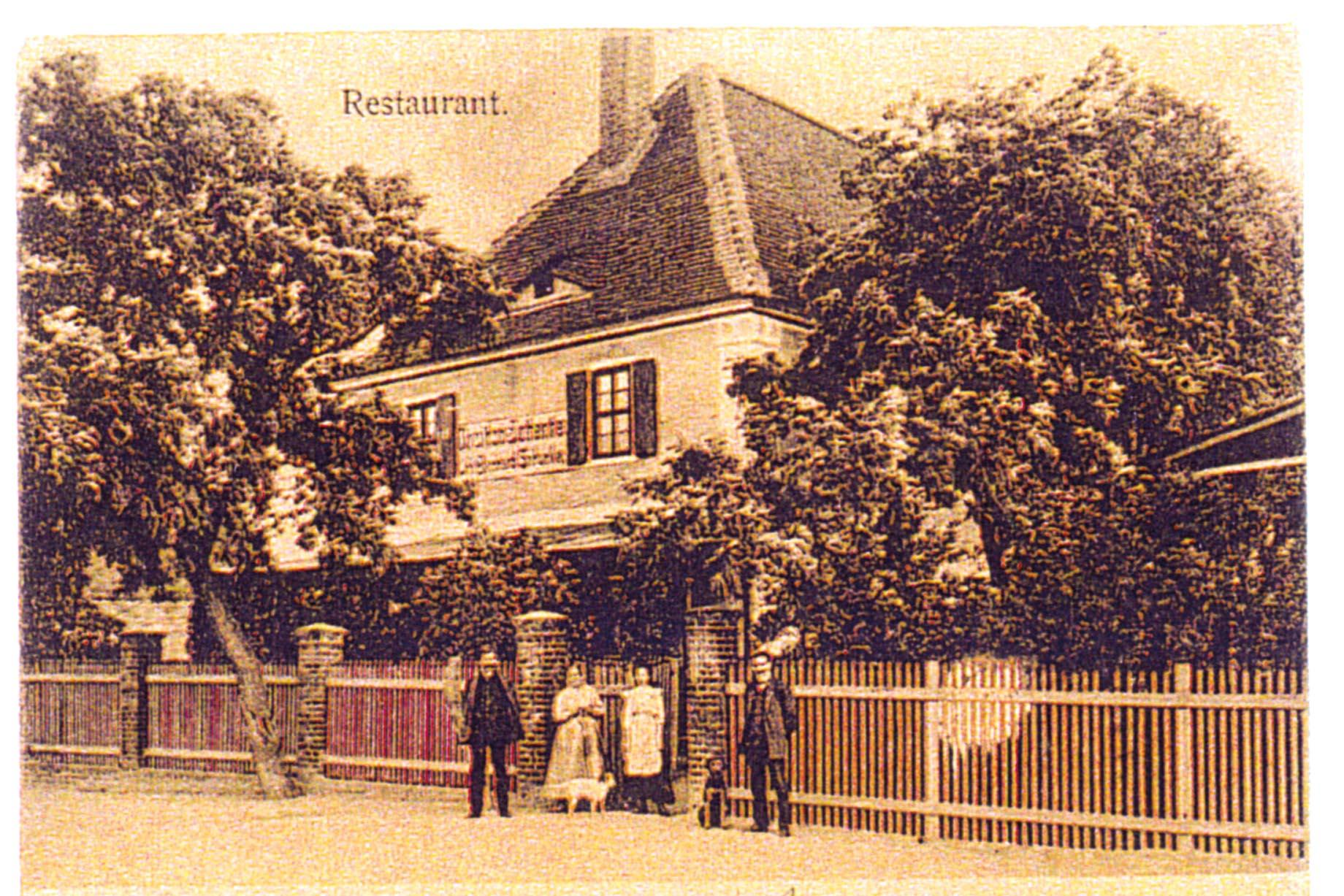 1890-1900, Restaurant Broihan-Schenke von Bernhard Schunke